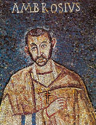 ambrosius (100) mozaiek