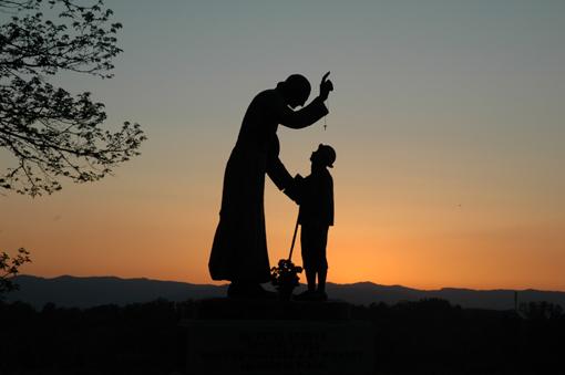 Jij hebt me de weg naar Ars gewezen, ik zal jou de weg naar de hemel wijzen!