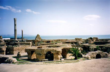 Carthago - ruïnes uit Augustinus' tijd