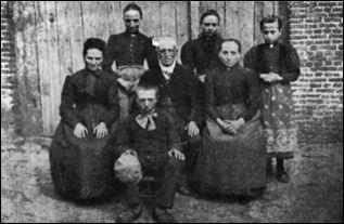 Het gezin De Veuster