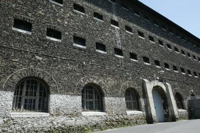 De gevangenis 'La Santé'.