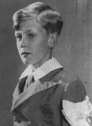 Jacques op 11-jarige leeftijd