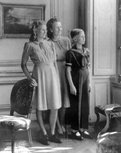 Jacques en zijn zussen.
