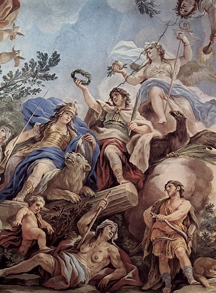 karidinale deugden fortitudo (101) LR Luca_Giordano
