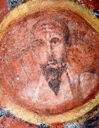 De oudste afbeelding van de apostel paulus.