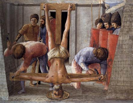 petrus (104) LR kruisiging