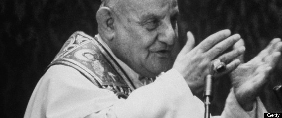 Pope John XXIII celebrating Mass at St. Peter's.  (Photo by David Lees//Time Life Pictures/Getty Images)