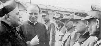 Roncalli bij Duitse krijgsgevangenen