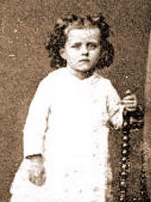 Thérèse op driejarige leeftijd