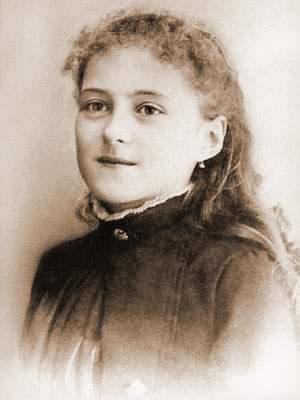 Thérèse 13 jaar oud.